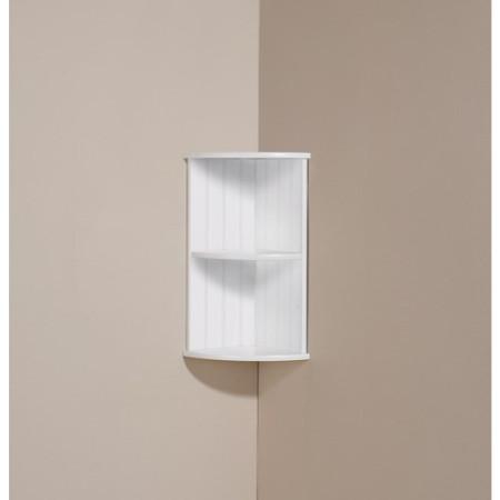 Mountrose Colonial Corner Wall Shelf in White
