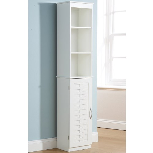 tall white bathroom cabinet storage  g home,
