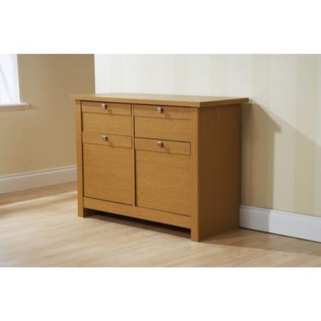 Mountrose Fuse 2 Door 2 Drawer Sideboard in Oak