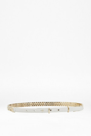 Naimh Chain Waist Belt - SUMMER WHITE
