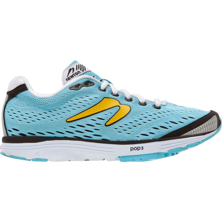 Newton Running Shoes Women's Aha - SS15 - UK 8 Light Blue/Black