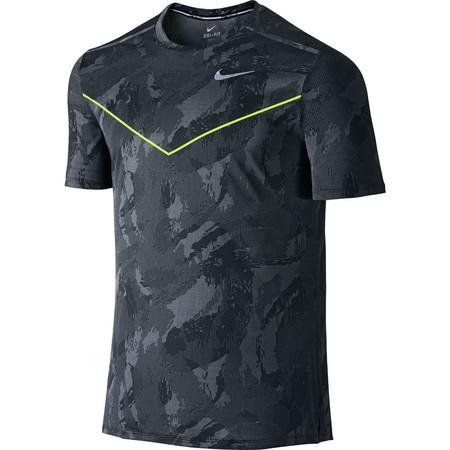 Nike Fractual Racing Short Sleeve (HO15) - Large Black/Silver