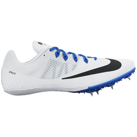 Nike Zoom Rival S 8 Shoes (HO15) - UK 12 White/Black/Blue