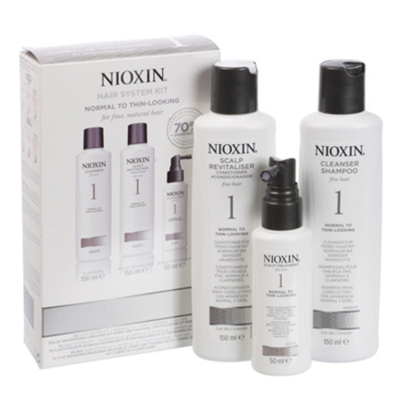 Nioxin 3 Part System Kit No 1 For Fine Hair