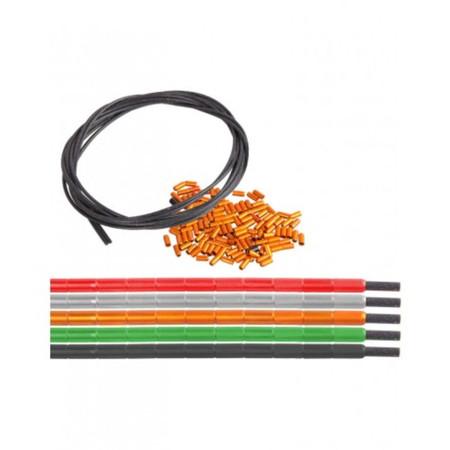 Nokon Slimline Extension Kit - 1 metre Green | Gear Cables