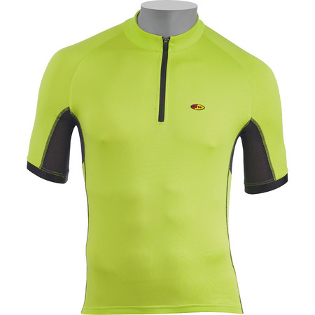 Northwave Force Short Sleeve Jersey - Large Yellow Fluro