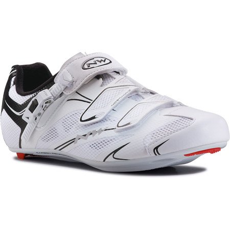 Northwave Sonic SRS Road Shoes - 41 White/Black | Road Shoes