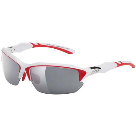 Northwave Volata Sunglasses - White/Red   Performance Sunglasses