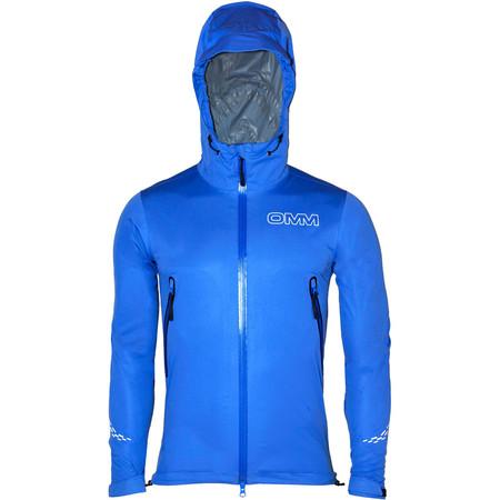 OMM Kamleika Race Jacket II - Large Blue | Running Waterproof Jackets