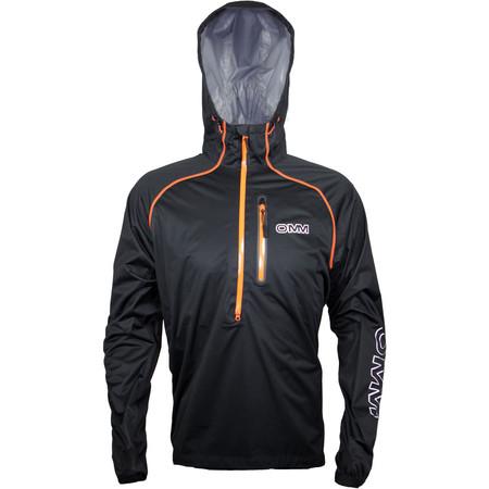 OMM Kamleika Race Smock II - Large Black | Running Waterproof Jackets