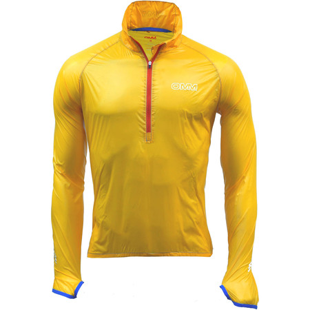 OMM Sonic Smock - X Small Yellow | Running Windproof Jackets