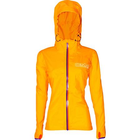 OMM Women's Aeon Jacket (SS16) - X Small Yellow/Purple-Orange