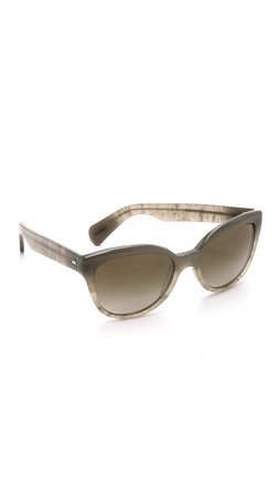 Oliver Peoples Eyewear Abrie Sunglasses - Cement/Hazel Gradient