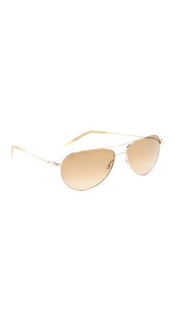 Oliver Peoples Eyewear Benedict Photochromic Sunglasses - Gold