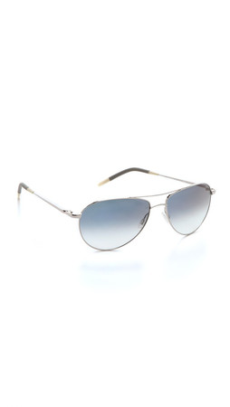 Oliver Peoples Eyewear Benedict Photochromic Sunglasses - Silver