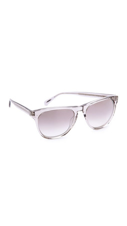 Oliver Peoples Eyewear Daddy B Mirrored Sunglasses - Workman Grey/Silver
