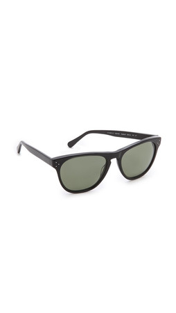 Oliver Peoples Eyewear Daddy B Sunglasses - Black