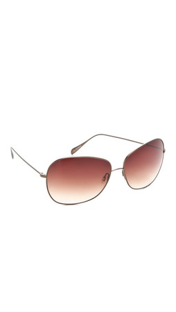 Oliver Peoples Eyewear Elsie Sunglasses - W-Spice Brown