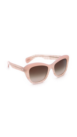 Oliver Peoples Eyewear Emmy Sunglasses - Pink Topaz/Umber Gradient
