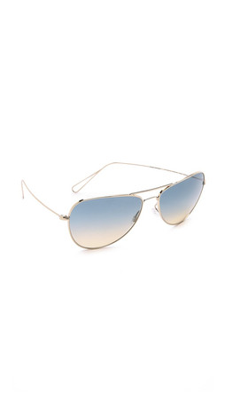 Oliver Peoples Eyewear Isabel Marant Par Oliver Peoples Matt Sunglasses - Light Gold/Dusk Gradient
