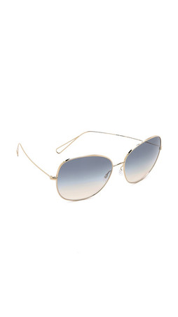 Oliver Peoples Eyewear Isabel Marant Par Oliver Peoples Sunglasses - Light Gold/Dusk Gradient