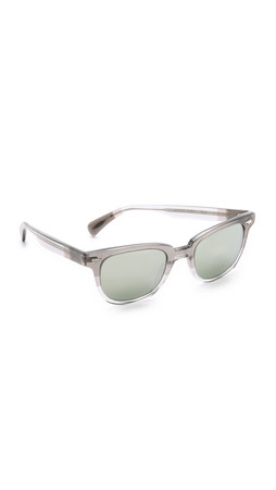 Oliver Peoples Eyewear Masek Sunglasses - Grey Fade/Silver Mirror