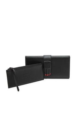 Opening Ceremony Misha Rectangular Wallet - Black