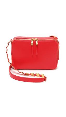 Opening Ceremony Sumi Handbag - Tiger Red