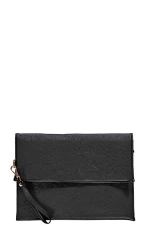 Oversized Clutch Bag black