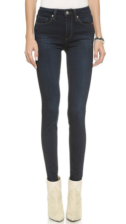 Paige Transcend Hoxton Ultra Skinny Jeans - Mona