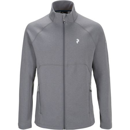 Peak Performance Will Zip - Medium Grey | Midweight Fleeces