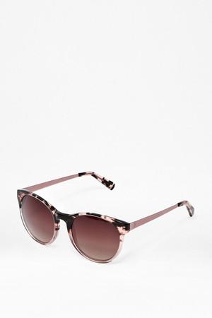 Pink Round Sunglasses - Demi Pink