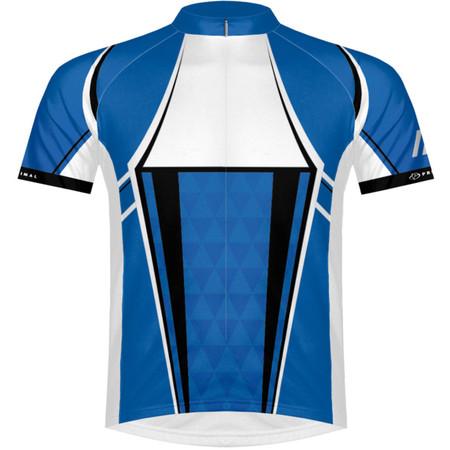 Primal Brevio Race Cut Jersey - Small Blue/White