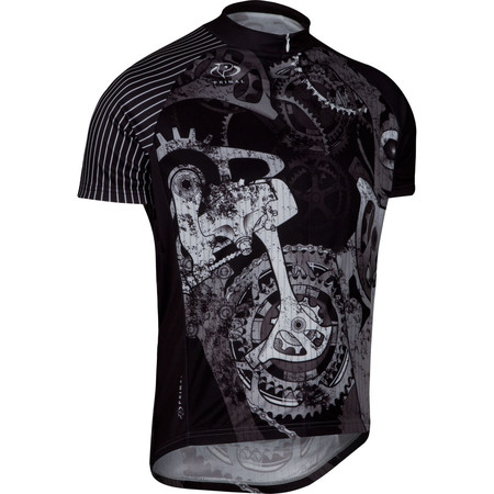 Primal Departed Jersey - Extra Extra Large Black/White/Grey