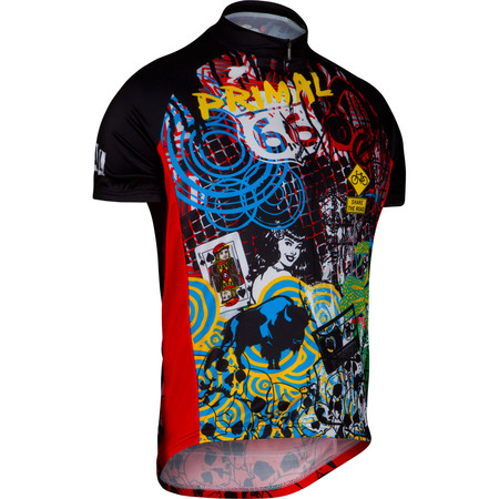 Primal Tagged Short Sleeve Jersey - Extra Extra Large Multi