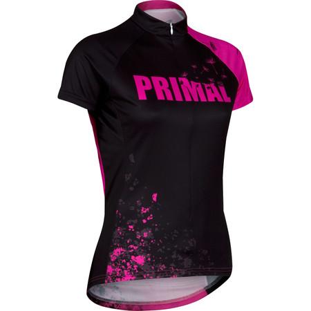 Primal Women's Embellish Jersey - Large Black/Pink