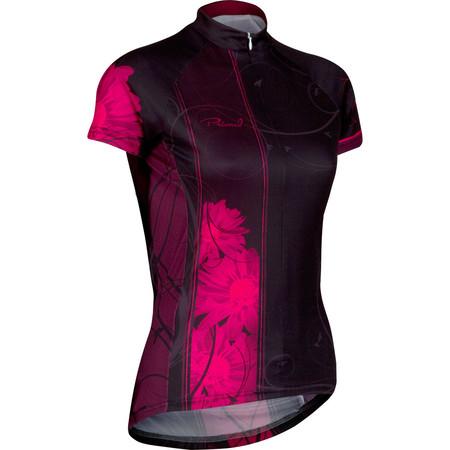 Primal Women's Noir Jersey - Extra Large Black/Pink