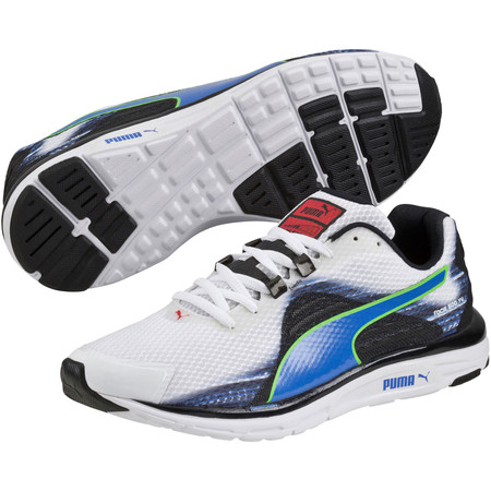 Puma Faas 500 V4 Shoes - SS15 - UK 8 White/Blue/Black