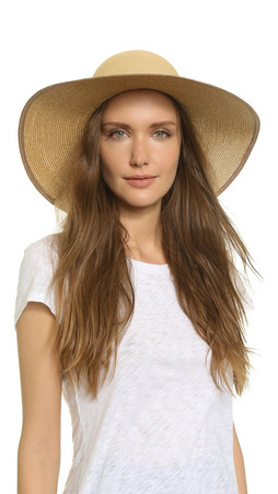 Rag & Bone Lily Sun Hat - Natural Multi