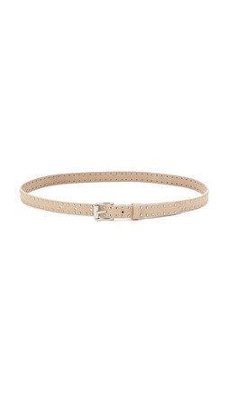 Rag & Bone Motorcycle Belt - Bone