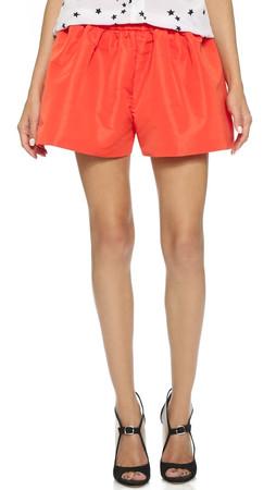 Red Valentino Shorts - Arancio