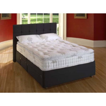 Relyon Tavistock Pocket 1400 Divan and Mattress - small double divan and mattress