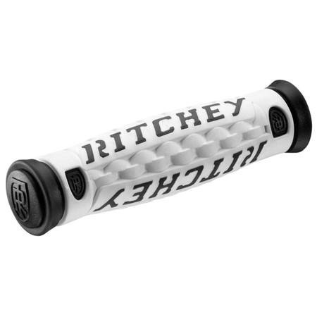 Ritchey Pro Truegrip 6 Handlebar Grips - White/Black   Bar Grips
