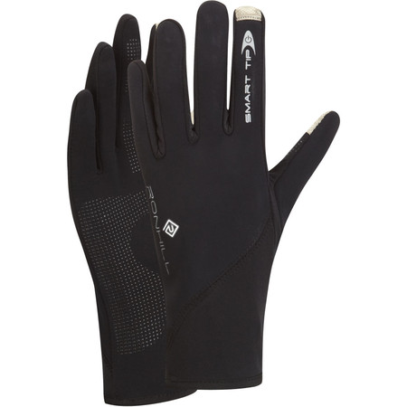 Ronhill Sirocco Glove - Medium Black | Running Gloves