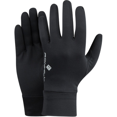 Ronhill Unisex Classic Glove -  - Small Black | Running Gloves
