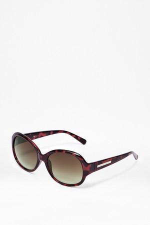 Round 60s Sunglasses - Tortoise