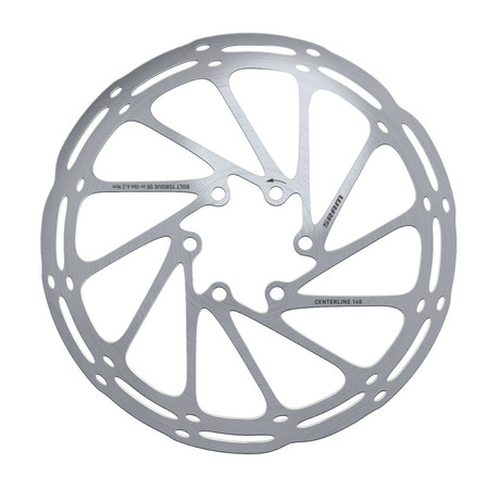 SRAM Centerline Disc Rotor - 160mm Silver Grey | Disc Brake Rotors