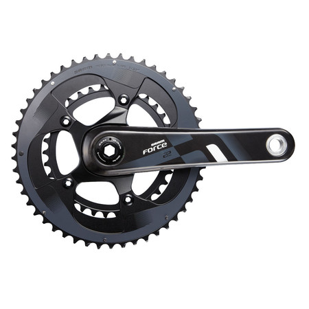 SRAM Force 22 GXP Compact  Chainset - 170mm x 50/34 Black/Grey