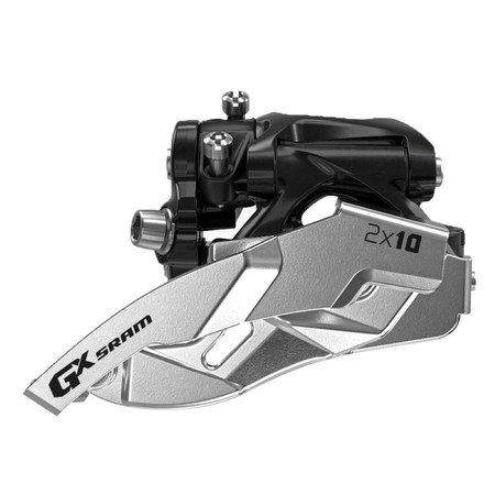 SRAM Front Derailleur GX 2x10 Low Clamp Dual Pull - 34T Dual Pull