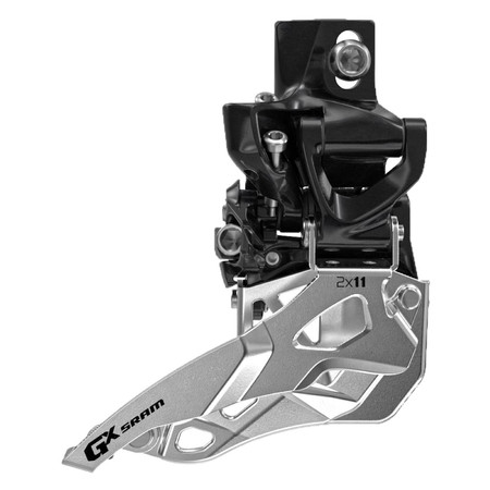 SRAM GX 2x11 High Direct Mount - Top Pull Black | Front Derailleurs